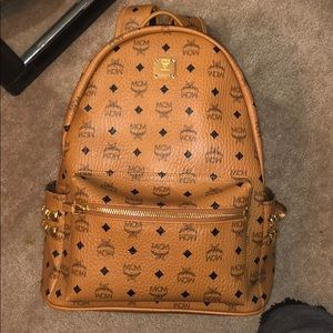 COPY - MCM Medium Cognac Backpack